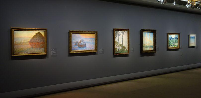 Au del des toiles le paysage mystique de monet kandinsky - Musee d orsay expo ...